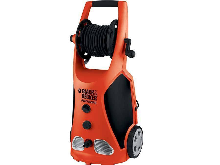 Black & Decker Pressure Washer PW2100SPB 140 Bar - large - 1