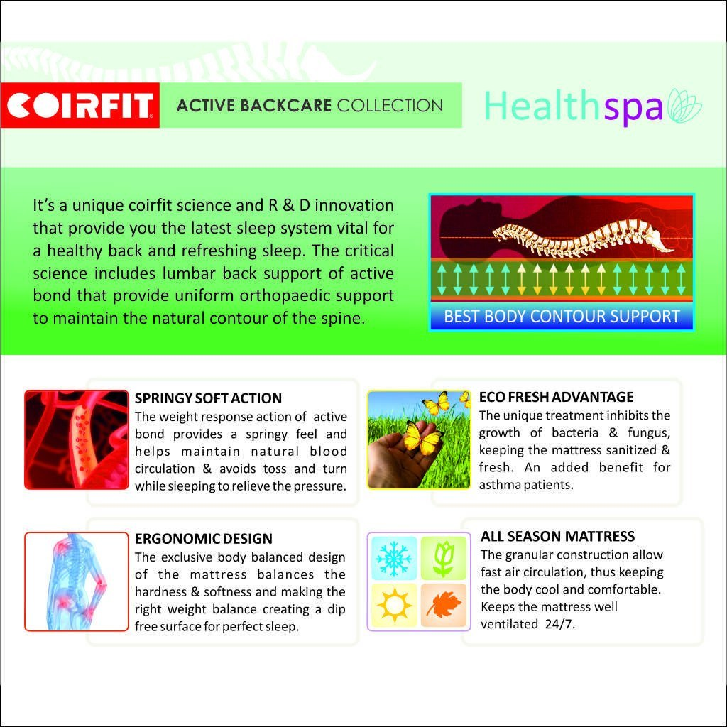Coirfit Mattress Speciality PUFF Healthspa - large - 3