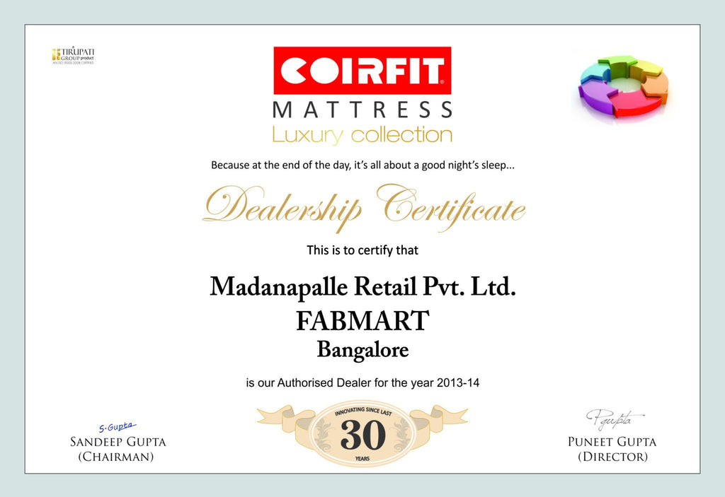 Coirfit Mattress Speciality PUFF Healthspa - large - 5
