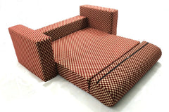 Sofa cum Adjustable Bed Red - Flat