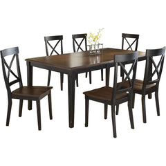 Solid Teak Wood Dining Set - Normandy