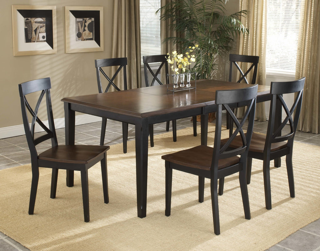 Solid Teak Wood Dining Set - Normandy - large - 2