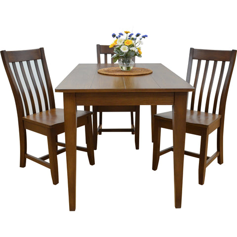 Teak Wood Dining Set - Annecy - 1