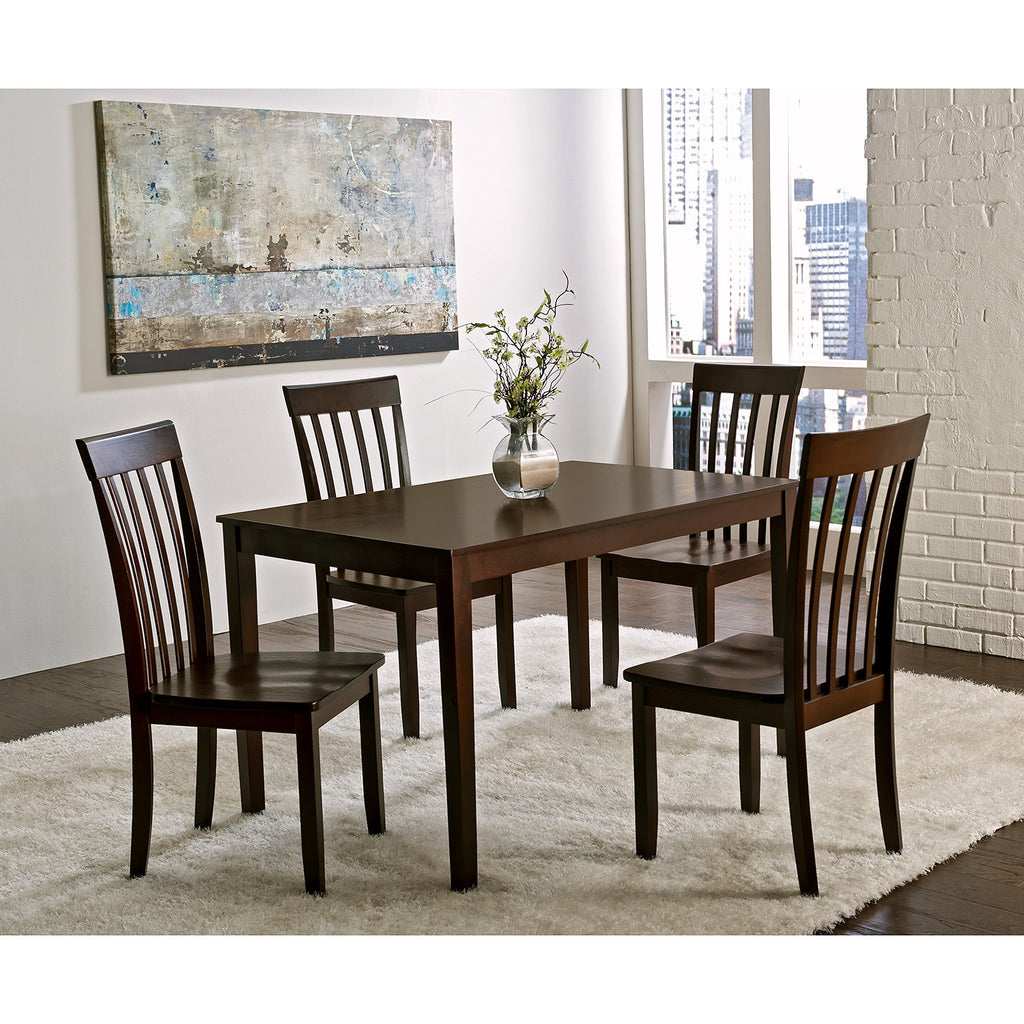 Teak Wood Dining Set - Brittany - large - 2