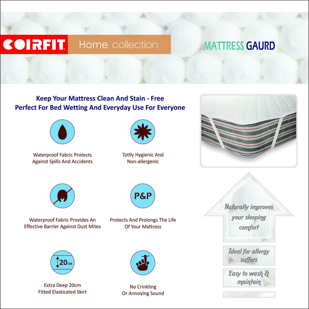 Mattress Protector Waterproof - Coirfit - large - 3