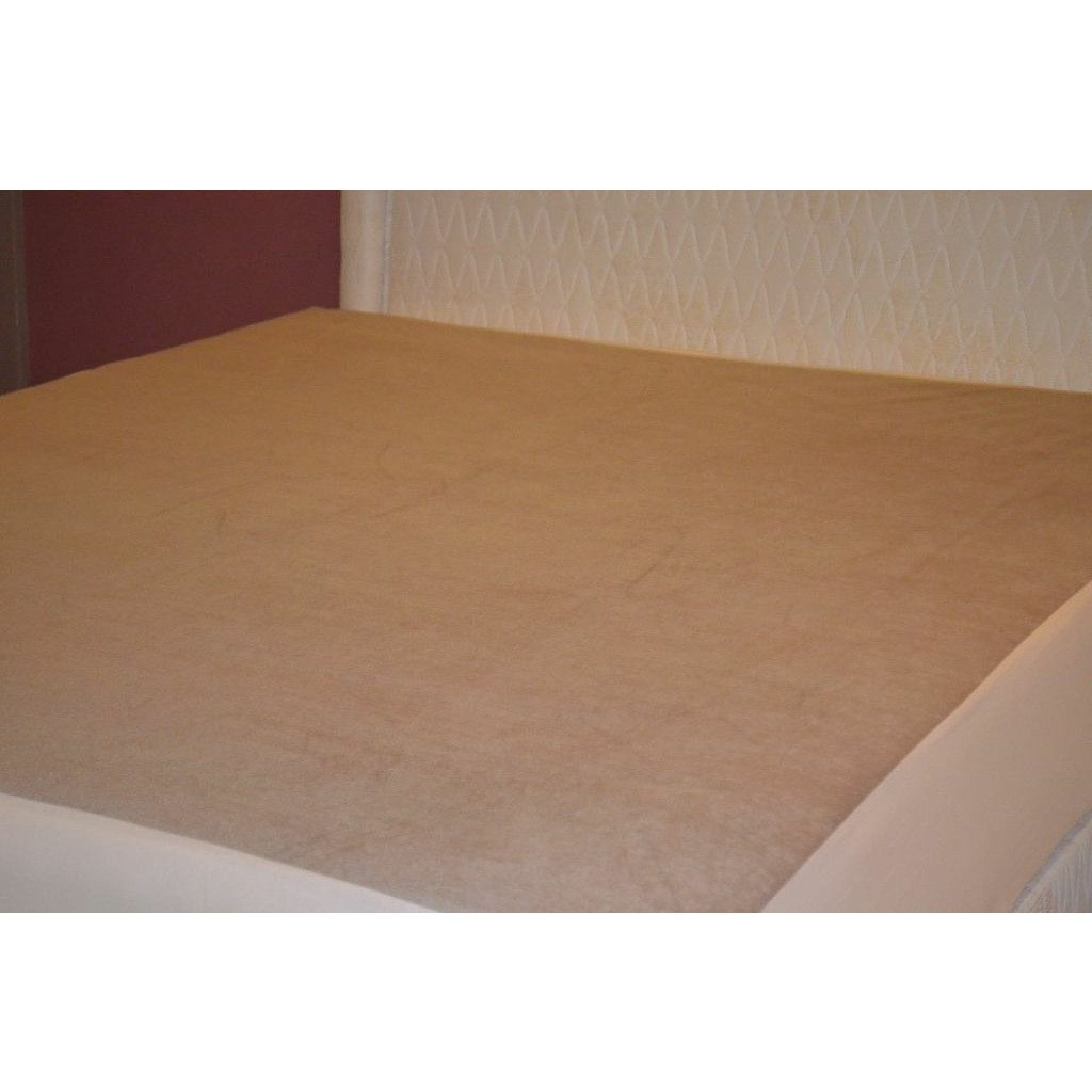Waterproof Mattress Protector Brown Skirting - large - 2