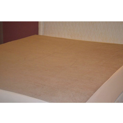 Waterproof Mattress Protector Brown Skirting - 2