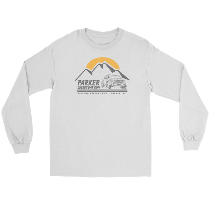 The Parker 2019 Mountain Tee Gildan Long Sleeve-up to 5x