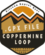 Load image into Gallery viewer, AZRR Open Run Event Registration Coppermine Loop Trail Challenge
