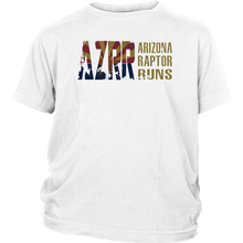Load image into Gallery viewer, Kid's AZRR Classic Faded Wide Logo Tee