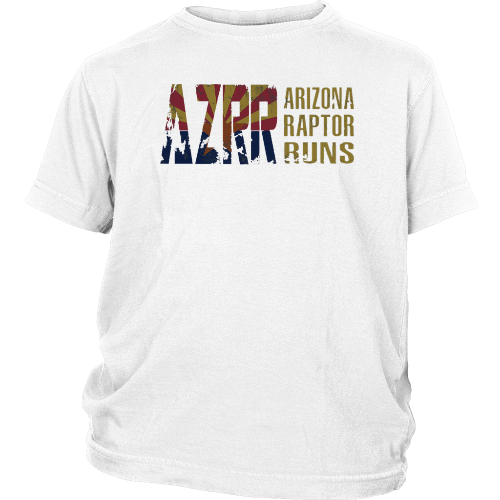 Kid's AZRR Classic Faded Wide Logo Tee
