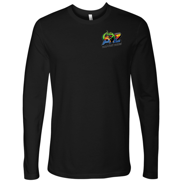 AZRR Next Level Mens Long Sleeve 2 Sided