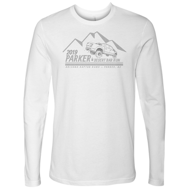 The Parker 2019 Faded Next Level Long Sleeve Tee