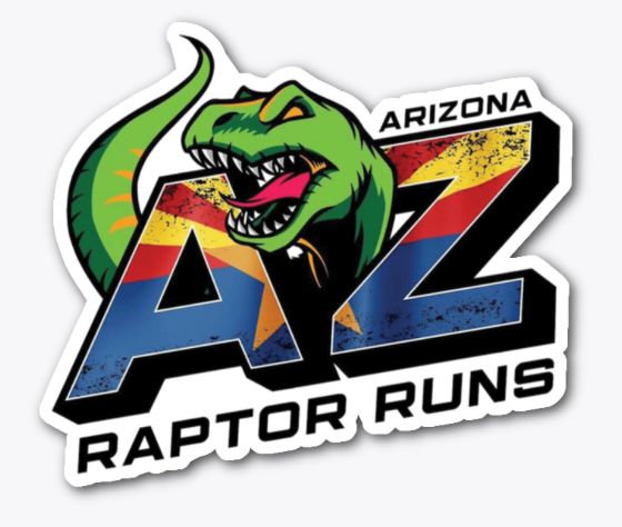 AZRR Raptor Runs decals