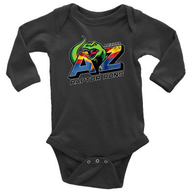 AZRR Long Sleeve Baby Bodysuit