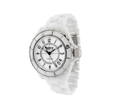 White Ceramic Watch