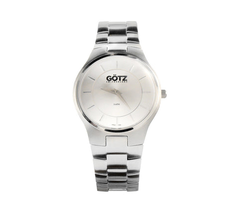 Stainless Steel Silver Color Watch