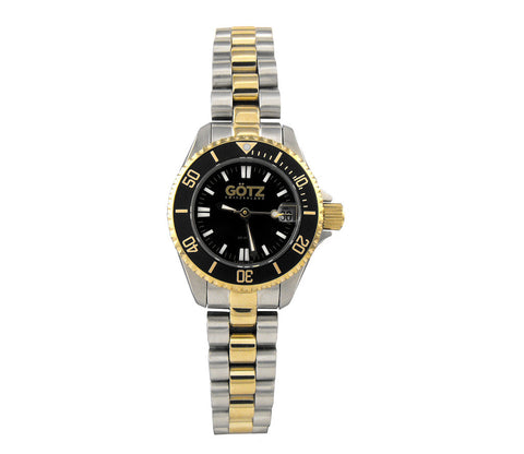 Stainless Steel Gold Plating Strap Watch