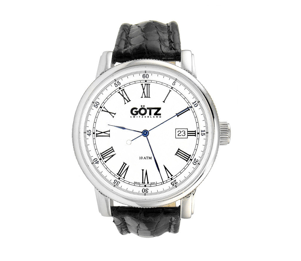 Stainless Steel White Watch