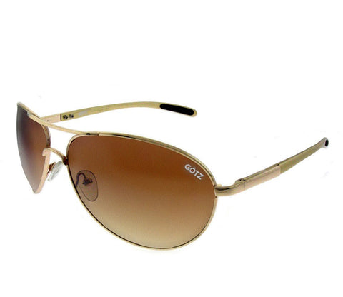Slim Classic Aviators in Gold