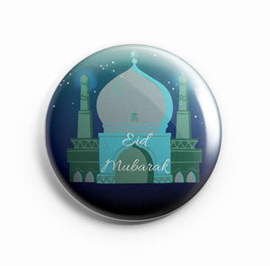AVI Eid Mubarak Green Fridge Magnet Regular Size 58mm MR8002006