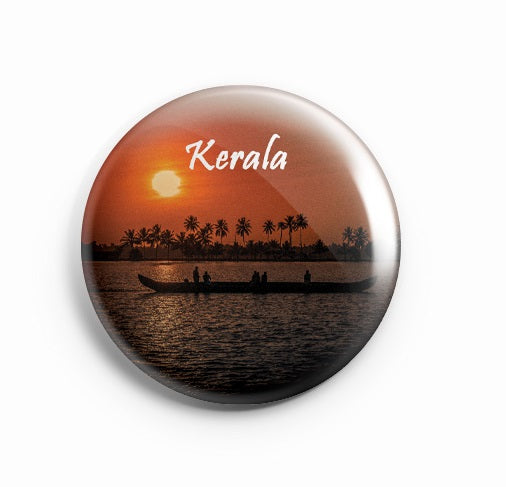 AVI Fridge Magnet Kerala 58mm  MR8002031