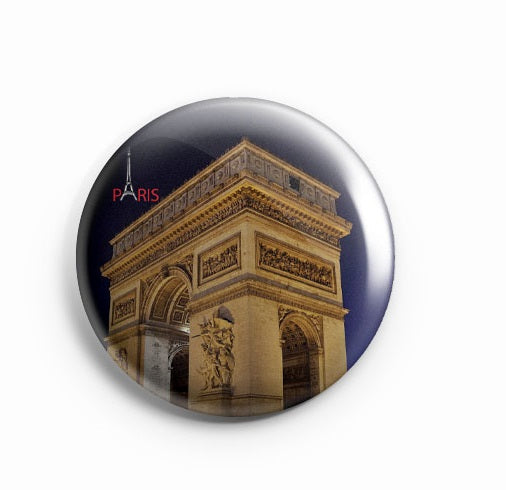 AVI Badge Arc de Triomphe Badge 58mm R8002032