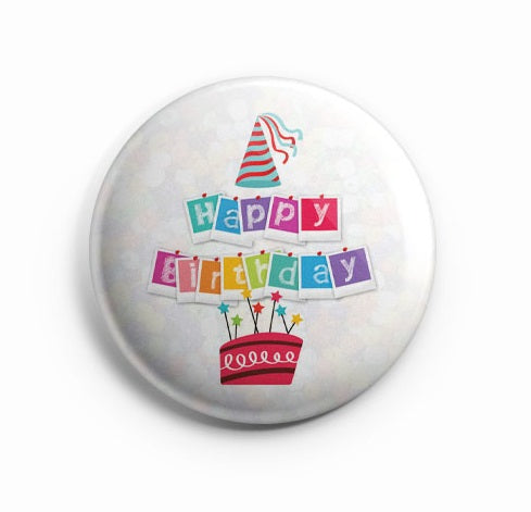 AVI Happy Birthday Regular Size 58mm R8002037