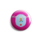 AVI Shubha Deepavali Diwali Deepawali Kannada Regular Size 58mm Pin Badge R8002043