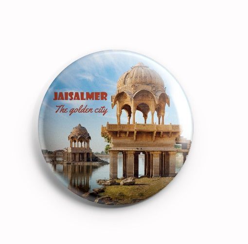 AVI Fridge Magnet Jaisalmer Rajasthan India 58mm MR8002044