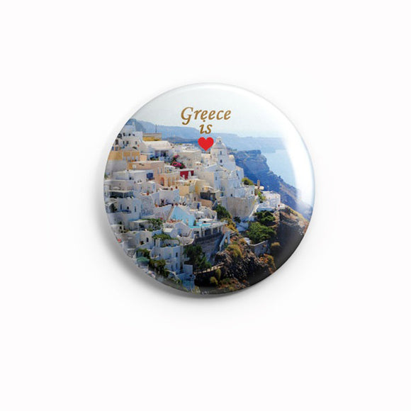 AVI 58mm Fridge Magnet Santorini Greece Travel souvenir Regular Size MR8002052