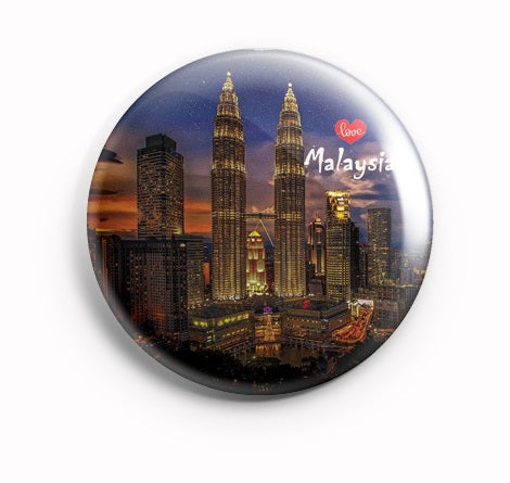 AVI Blue Fridge Magnet Malaysia Regular Size 58mm MR8002094