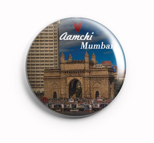 AVI Aamchi Mumbai Fridge Magnet Regular Size 58mm MR8002099