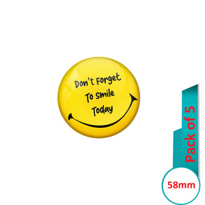 AVI Pin Badges with Pink You are my sunshine Quote Deisgn Pack of 5
