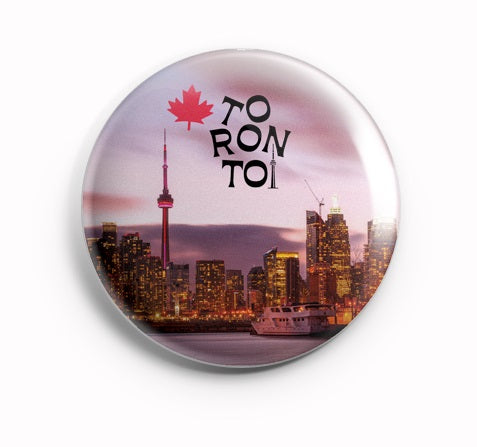 AVI Purple BadgeToronto Canada Regular Size 58mm R8002100
