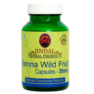 Senna Wild Fruit Capsules - Strong