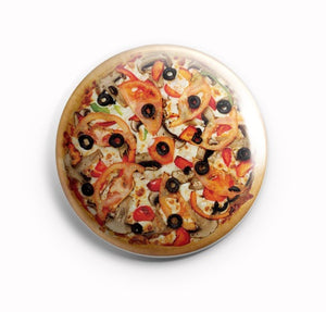 AVI Fridge Magnet Pizza Food lover Multicolor Regular Size 58mm MR8002114