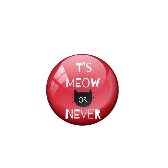Its Meow or never Badge