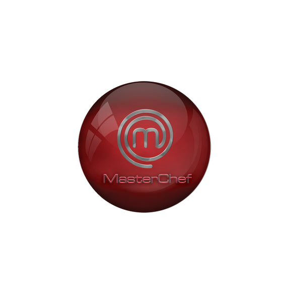 AVI Metal Red Colour Pin Badges With Masterchef Design
