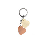 AVI Techpro Multicolour Valentines'day Romantic Metal Heart Keychain Gift for Couples Combo Pack