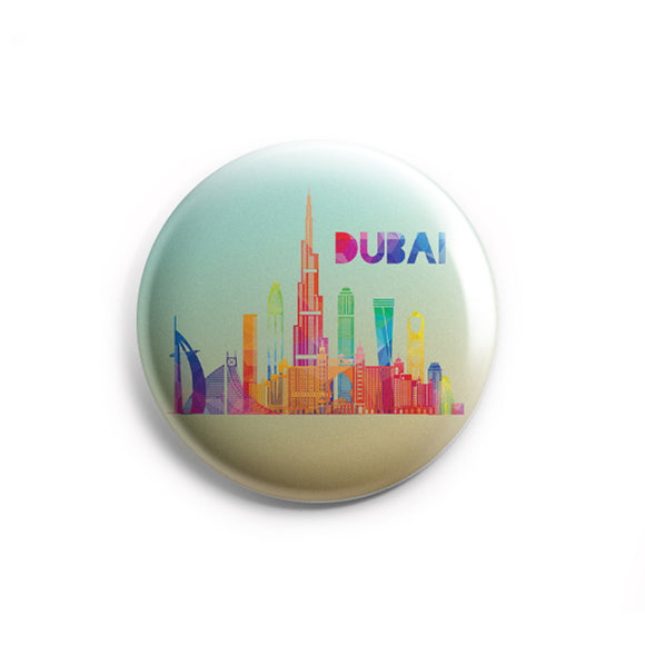 AVI 58mm Regular Size Fridge Magnet Dubai  Multicolor UAE Travel Souvenirs MR800214