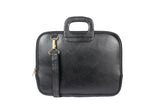 AVI Genuine Leather Executive Slim Laptop Bag Single Compartment
