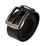 AVI Mens Classic Handcrafted Black Leather Belt