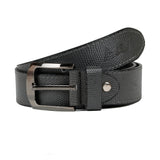 AVI Mens Classic Handcrafted Grey Leather Belt