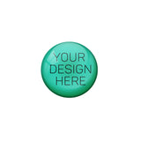 AVI Black Personalised Custom Button Fridge Magnet (58 mm)