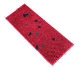 AVI Pink Color Rubber Door Mat Design