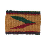AVI Coir Door Mat With Green, Pink & Violet Color