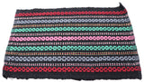 Multicolored Fabric Doormat 22 x 15 inches