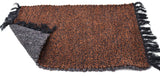 Brown Double sided Plain Fabric Door Mat 24 x 16 inches FFM00005