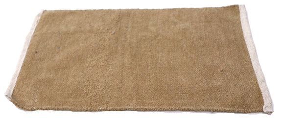 Dark cream Plain Fabric Door Mat 24 x 16 inches FFM00014